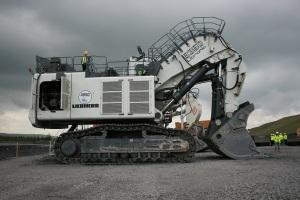The Liebherr 9350 Litronic hydraulic excavator. Copyright: The Intelligent Miner