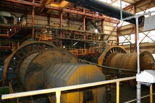 Inside the Aljustrel concentrator. Copyright: The Intelligent Miner