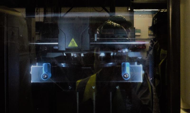 3D printer in mining