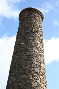 The stack at Wheal Coates is in remarkably good condition. Copyright: The Intelligent Miner