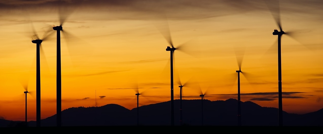 Wind turbines. Image: Pixabay