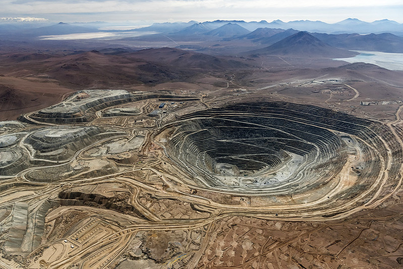 Scale is becoming an issue across the industry and particularly in copper. Image: Anglo American