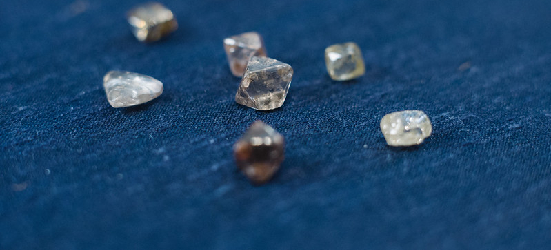 Diamonds. Image: Anglo American